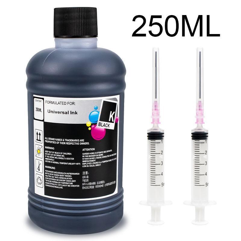 Ink Refill Kits 250ML Bottle Universal For 3800 7600 P600 T3200 Ecotank Printer 305 302 301 PG 540 545 Cartridge And Kit