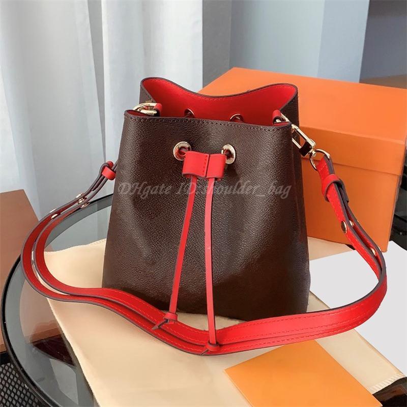 2021 Frauen Luxurys Eimer Schulter Noenoe Bag Handtasche Mode Crossbody Tote Einkaufen Taschen Rucksack Handtaschen Geldbörse Brieftasche Taschen Geldbörsen Lady Fanny Brieftaschen