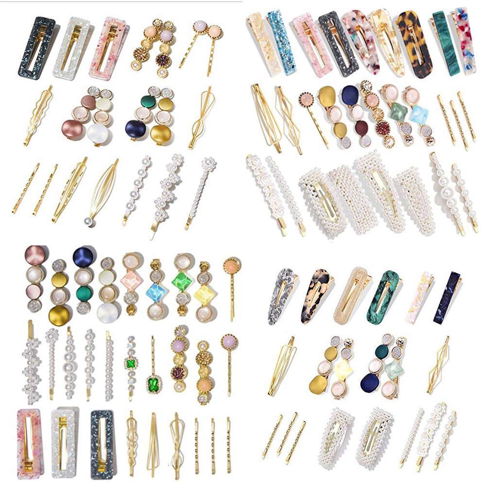 Pearl-Haarnadel-Set-Acrylacetat-Haarnadel-Kombinationshaar-Ornament