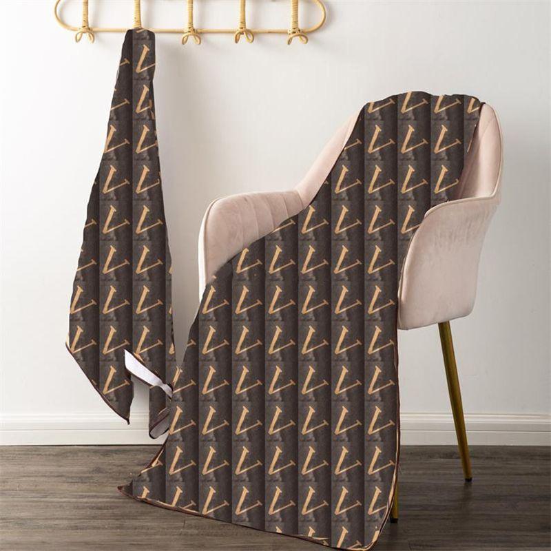 Hochwertiges Strandtuch Mode Brief Gedruckt Frauen Home Badetuch Großhandel Mikrofaser Mädchen Lange Handtücher Geschenke Sets Czy888