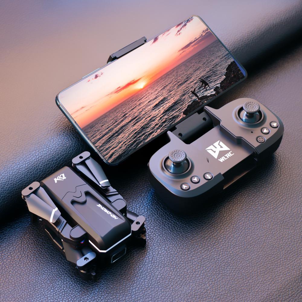 Auf Lager RC Aircraft Globale Drohne 4k Doppel HD Kamera Mini Fahrzeug Wifi FPV Faltbare Professionelle Hubschrauber Selfie Drohnen Spielzeug für Kind mit Batterie KK1