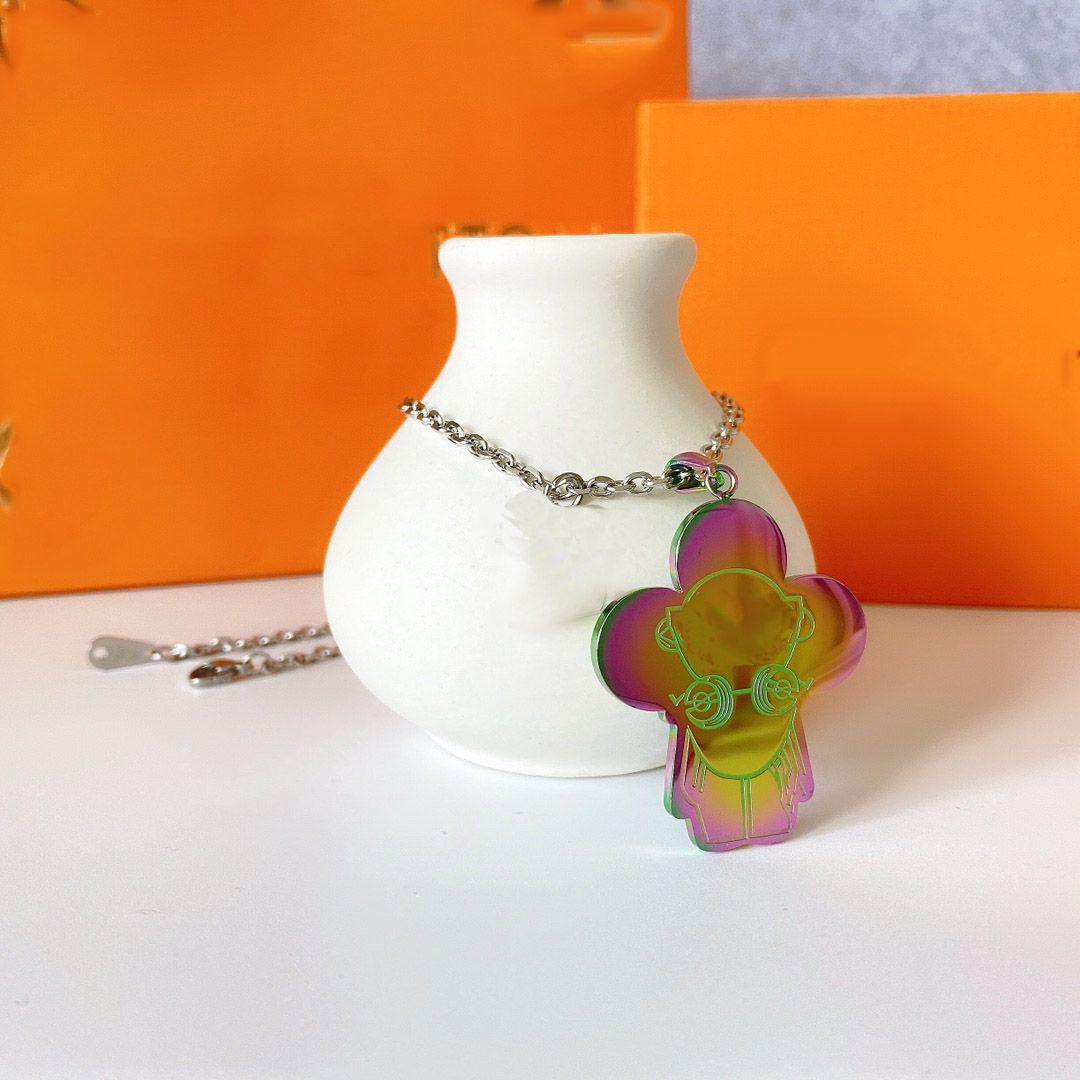 2021 Collier de mode Pendentif de luxe Colliers d'amour Bracelet pour homme Femmes Designer Bijoux Bracelets avec boîte de canal cadeau en gros