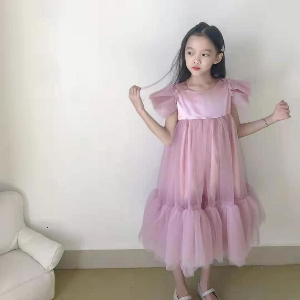 Летняя девочка Весна и князья иностранные РЛПР Д-р Детская SVE Ls Puffy Super Fairy Чистая красная юбка