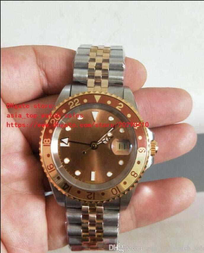 Alta calidad BP Factory Últimas versiones Relojes de pulsera Vintage 1675 40mm marrón marrón Asia 2813 Movimiento Moda automática Moda Relojes de desgaste