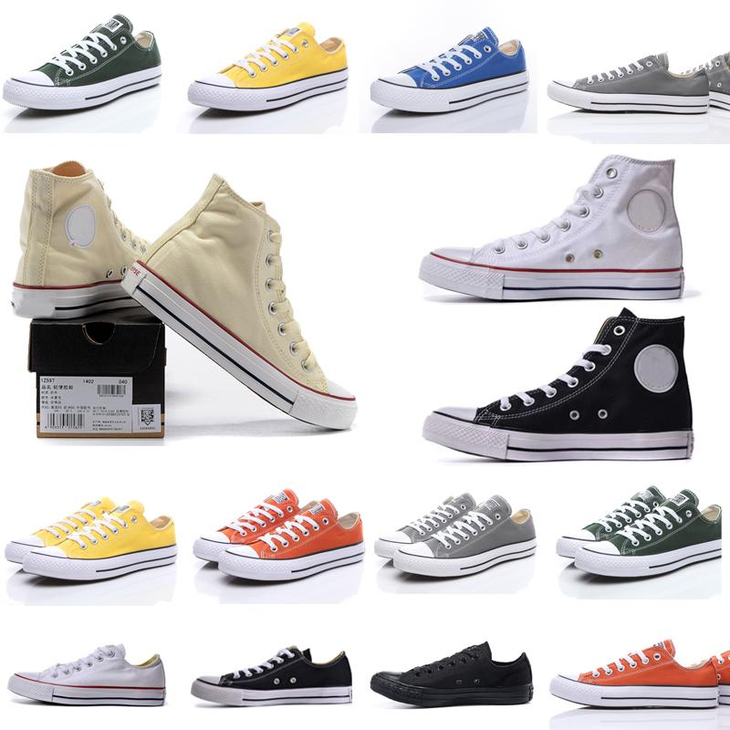 2021 classic casual men womens canvas shoes converse star Sneakers chuck 70 chucks 1970 1970s Big 70s Eyes Sneaker platform stras shoe
