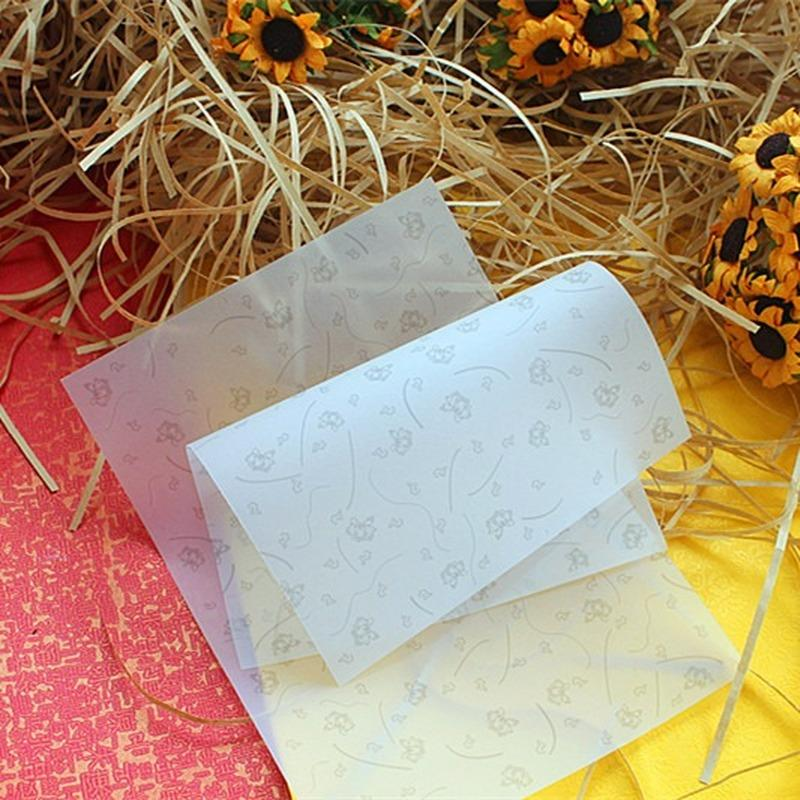 100PCS Wrapping Paper For Handmade Soap Wax Paper Special for Homemade Soap Packing Greaseproof Paper