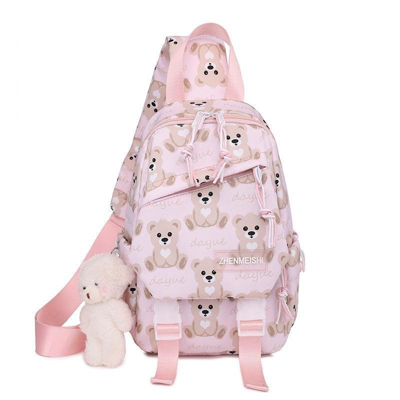 Waist Bags 2021 Chest Bag Handbag Fashion Shoulder Messenger Casual Simple Cartoon Small Backpack Cross Body