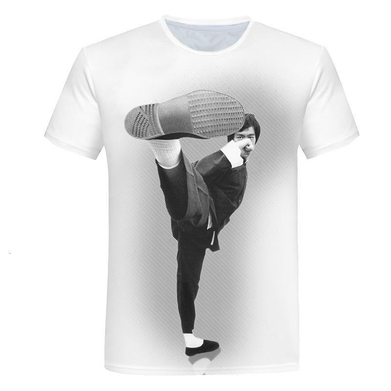 Gençlik Canlılık 3D Dijital Baskı T-Shirt Spor Eğlence Yaz erkek Yuvarlak Boyun Moda Kısa Kollu İnce Stil
