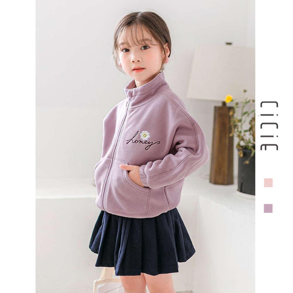 Nouveau manteau Vêtements automne hiver 2020 bébé fille 'bébé coréen double face cachemire cardigan pour enfants