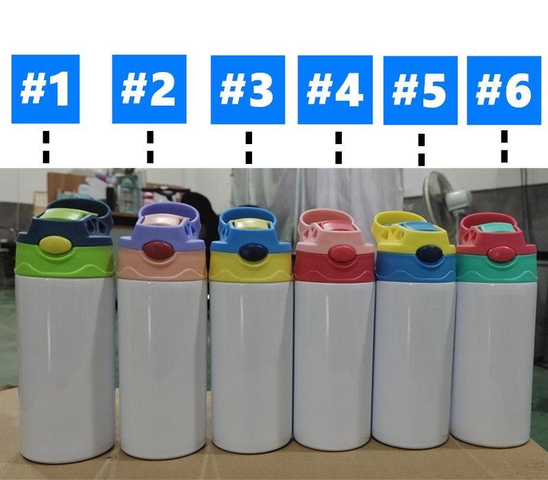 12 أوقية التسامي مستقيم سيبي كوب الاطفال بهلوان الفولاذ المقاوم للصدأ زجاجات التمريض مزدوجة معزول فراغ الملاحظات