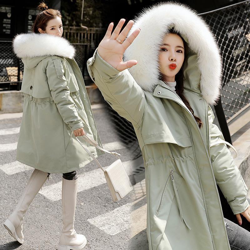 Veste rembourrée en coton d'hiver Femme Downs Parkas