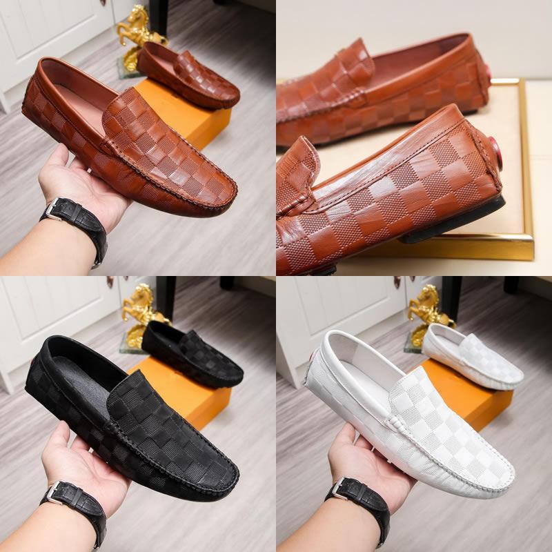 Designer Kleid Schuhe Hochzeitsschuhe Herren Wohnungen Büro Classic Major Loafer Echtes Leder Slip auf Schuhe Für Männer