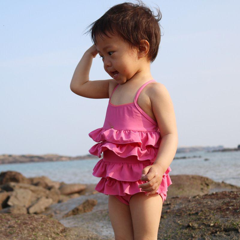 Bikinigirls 'One Piece with Ruffles Bikini Bikini Swimsuit Princess Baby