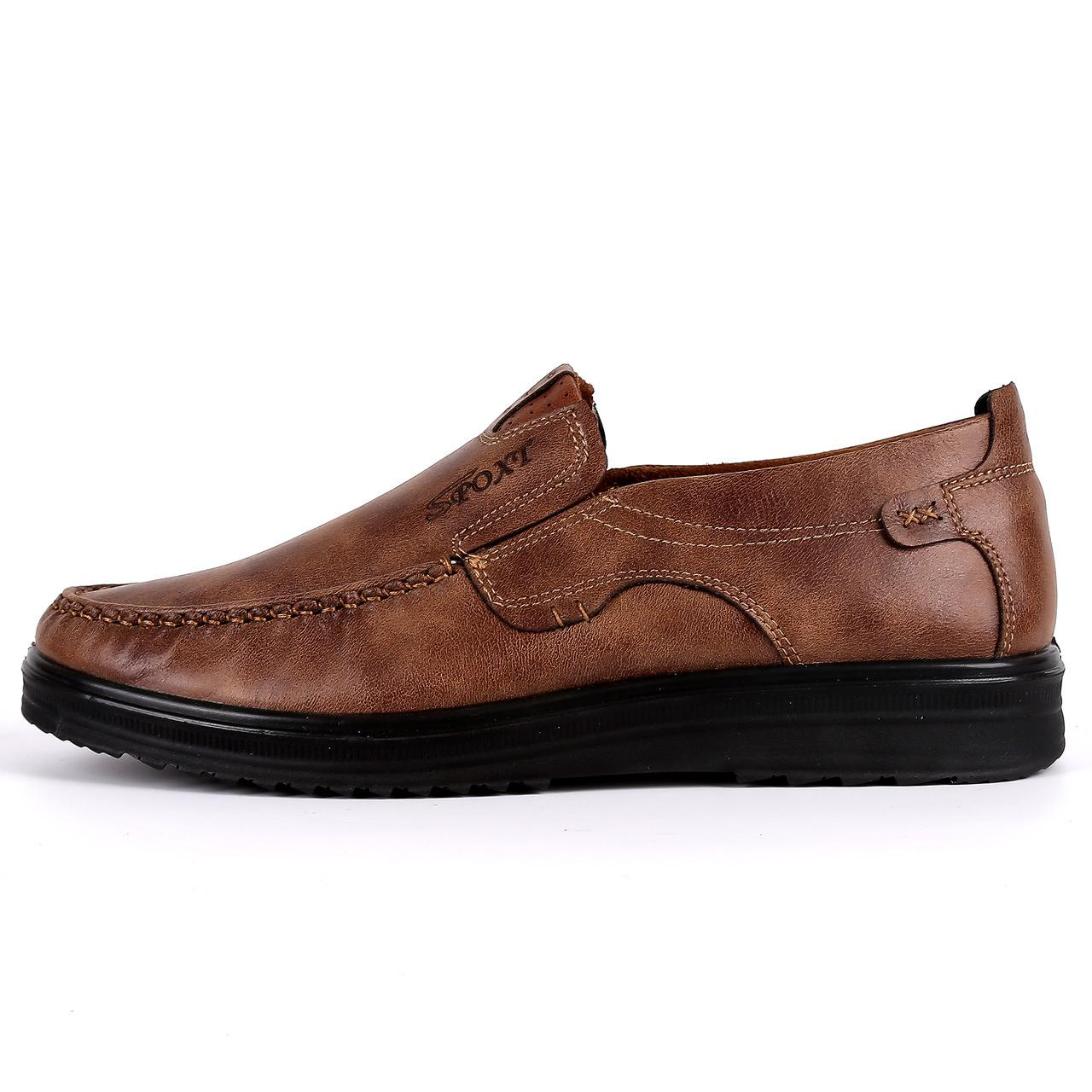 Eski Pekin Bez Ayakkabı Erkek Pompaları 2018 İlkbahar Ve Sonbahar Yeni Erkek Iş Rahat Ayakkabılar Nefes Yumuşak Alt Toptan