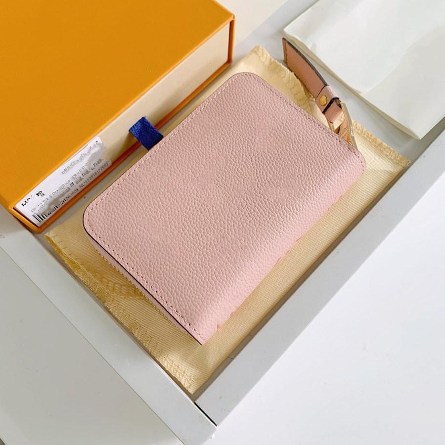 Luxurys مصممين المحفظة طريقة أنيقة لتحمل جميع بطاقات المال والعاملات المواد الناعمة الجلود محفظة حامل بطاقة الأعمال المرأة طباعة محافظ