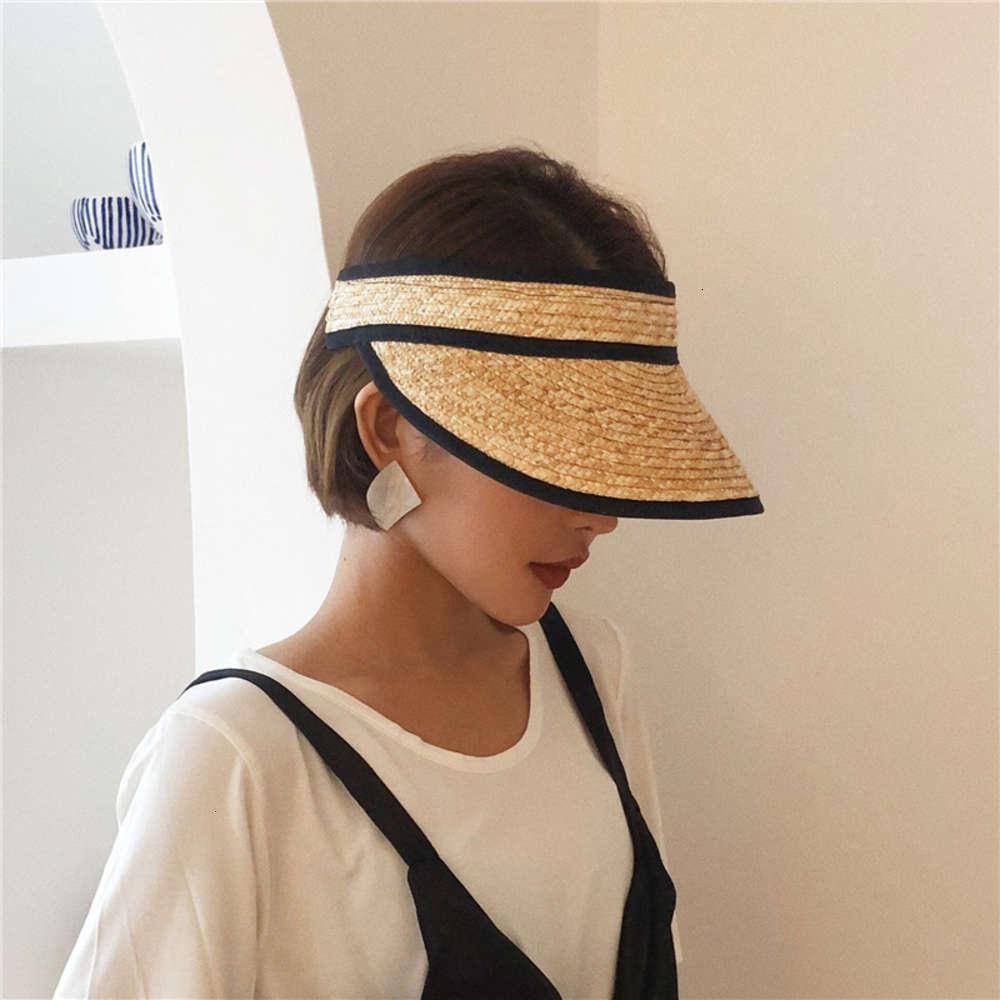 Chapéus Caps Ins Sunshade Verão Crianças Moda Moda Rua Solcreen Ao Ar Livre Hollow Chapéu de Palha