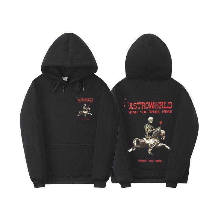 Astroroworld Sweat Hoodie Hommes Sweats en molleton de haute qualité Imprimer Pull Hip Hop Travis Sweats à capuche Swewend Street Pull à capuchon en peluche
