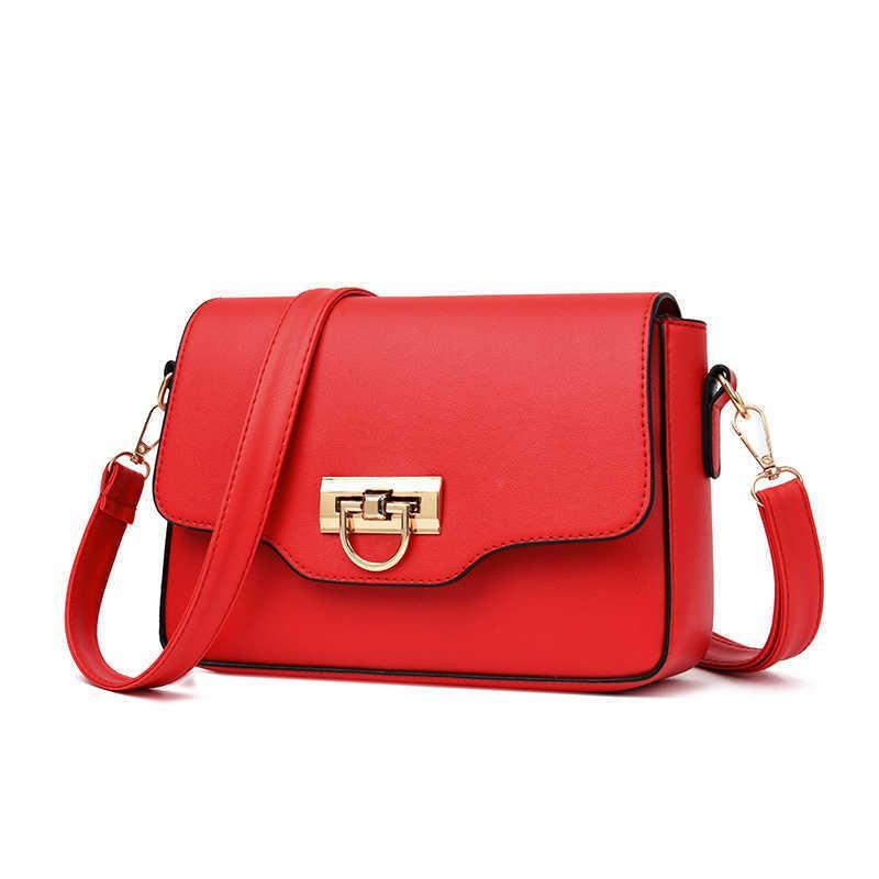 Longlief امرأة عصري خفيفة الكتف حقيبة سيدة بو الجلود الفاخرة حقيبة crossbody Q0713