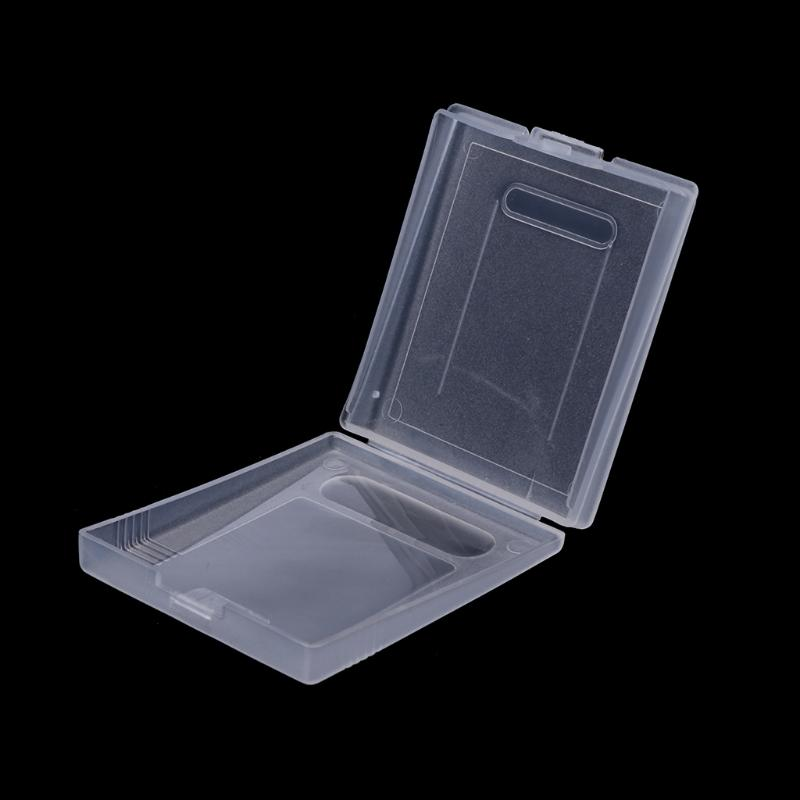 Cobertura plástica clara capa de poeira do cartucho do jogo para o jogo Menino Cor GBC