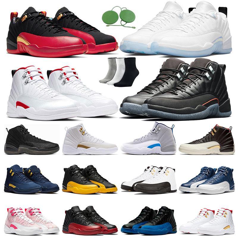 nike air jordan retro 12 12s Tonu Balo Gece Bred 11 MensTrainers Bayan Spor Sneaker ayakkabı boyutu 5.5-13