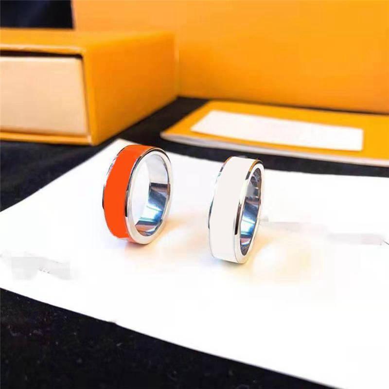 Bague mode pour homme unisexe Amour Anneaux Homme Femme Bijoux 4 Cadeaux couleur Accessoires de luxe