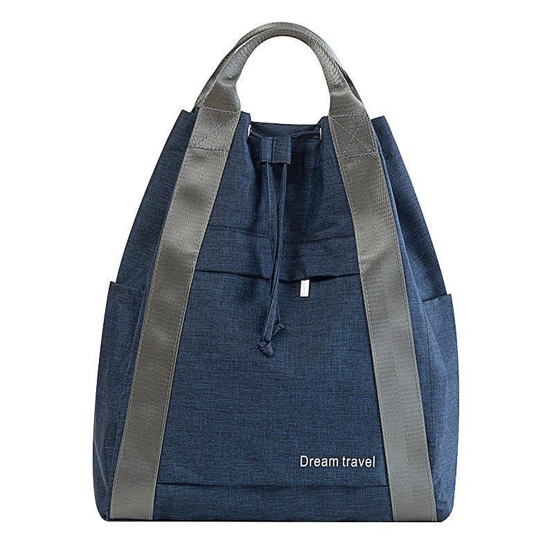 Bolsas al aire libre Impermeable Bolsa de almacenamiento de viajes corta distancia a prueba de agua para mujer Mochila de las señoras portátil