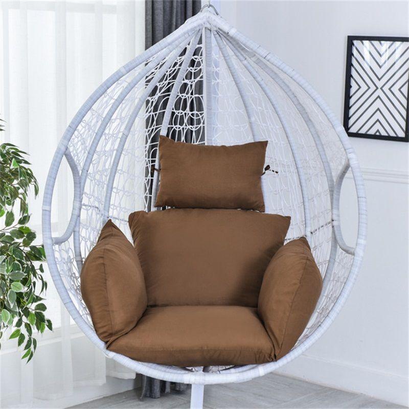 Swing Chair Cushion Mat Appeso Patio per esterni per esterni per interni PAD CADONE SEDIA (senza sedia) 1913 V2
