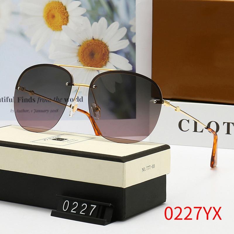 남자를위한 브랜드 디자이너 선글라스 여름 야외 샌디 비치 증거 그늘 좋은 품질 드라이버의 태양 안경 안경 장면 헝겊으로 안경 세련 된 안경 # 0227