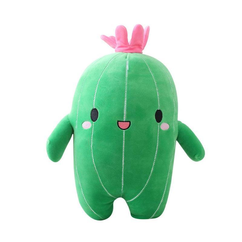 Kawaii Blume Pflanze Kaktus Plüsch Spielzeug Triver Gefüllte Kinder Mädchen Kinder Puppenraum Kissen Dekor Geschenk Schlafzimmer Kissen Bolster 25cm 40 cm la248