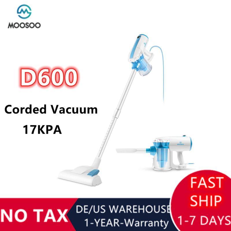 In1 Stick Corded Aspiradora 17KPA Potente manija de succión inalámbrica con limpiadores de filtros HEPA