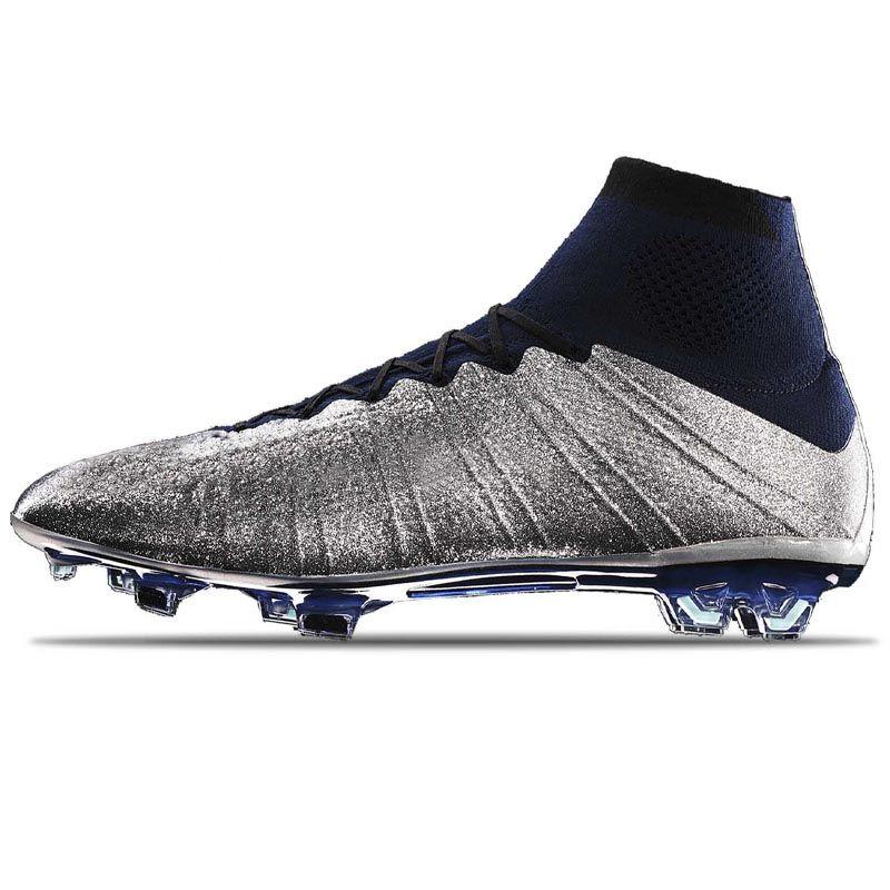 Haberler CR 7 Megc Erkek Ayakkabı Sneakers Dream Hızı Mercurial Superfly V 360 Elite FG Futbol Çizmeler Sancho Erkek Çimen Oyun Spor Futbol Kelepçeleri Eğitmenler