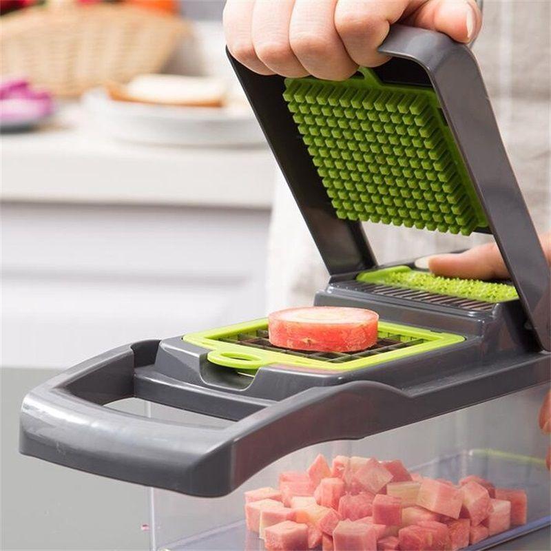 Novo 7 em 1 cortador de legumes cortador de alimentos dger mais doce vegetal frutas peeler cortador cortador de cenoura cenoura ralador # 0826g30 201201 899 R2