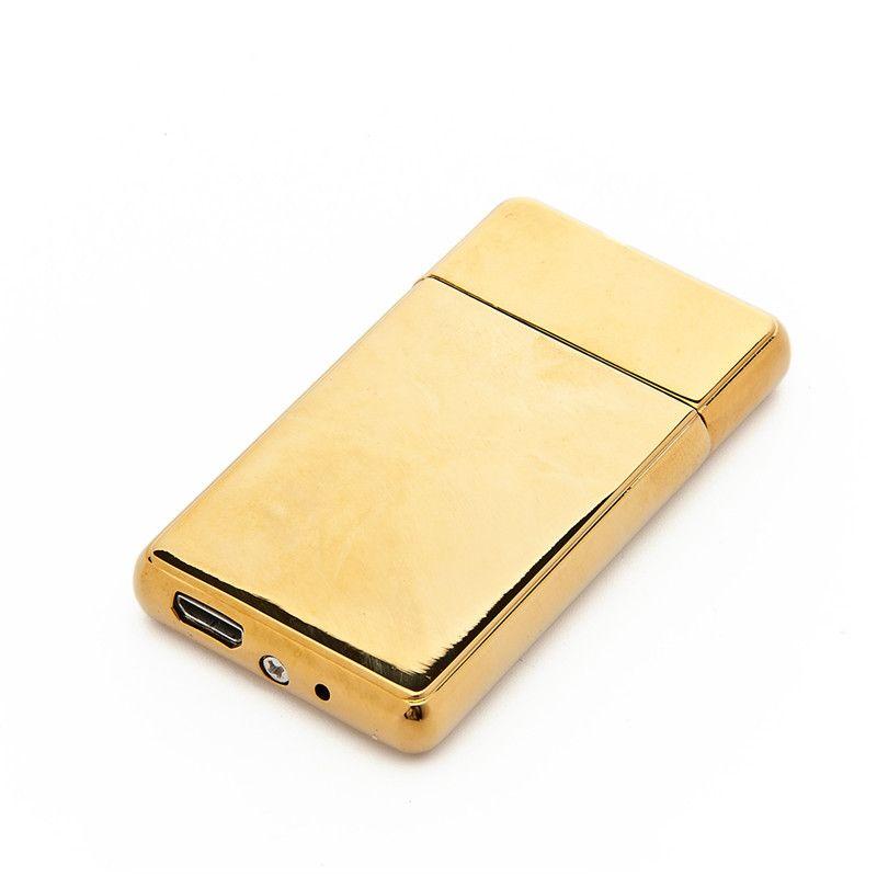 USB-Ladeanzünder personalisierte Metall intelligente doppelseitige elektrische Draht-Zigaretten-Feuerer OOD5877
