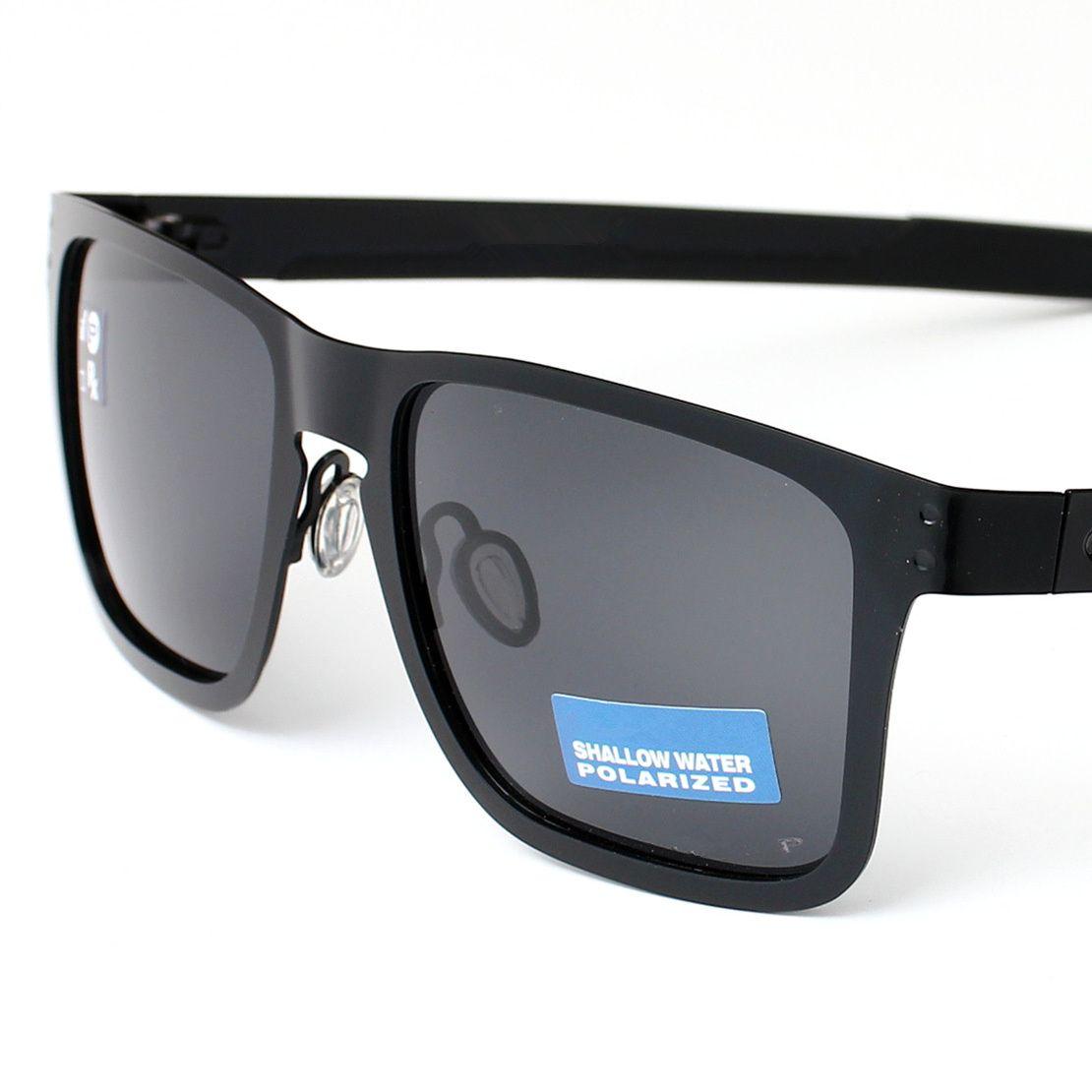 4123 Óculos de sol da marca polarizada homens moda moda esportes ciclismo óculos holboks uv proteção reflexivo revestimento eyewear