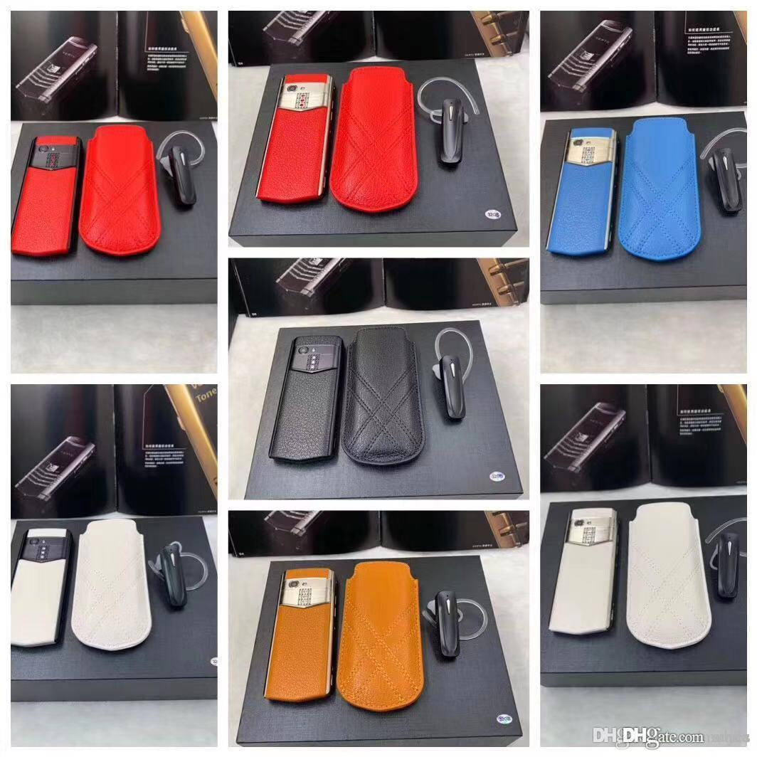 2022 mini real leather case 3.5inch android mobile phone 4g cell phones with 3GB+32GB 64GB ROM free bluetooth earphone type c 13MP camera