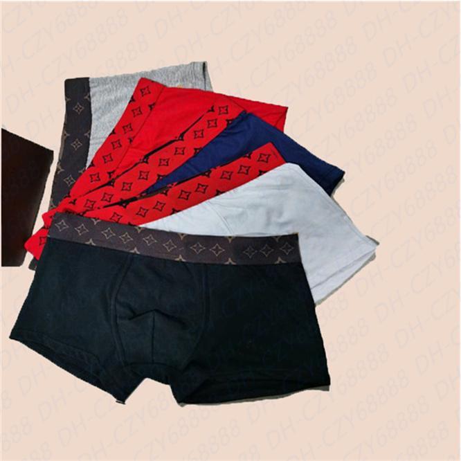 MENS Ethika Sous-vêtements Designers Mode Boxers Respirant Boxer Sous-fonds Mens Sexy Taille serrée Sous-robe Boxers Underwear M-XXL