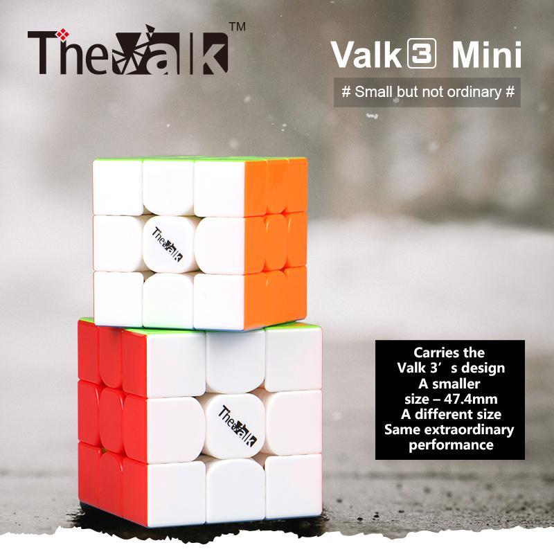 Qiyi Valk3 مصغرة مغناطيس سرعة مكعب 3x3 mofangge Valk 3 سحر السرعة مكعب WCA المنافسة مكعبات ألعاب تعليمية كوبو ماجيكو