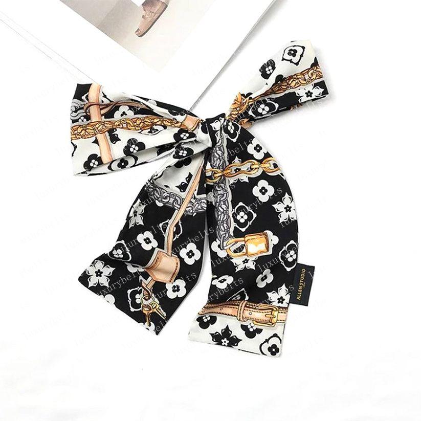2021 Sciarpa di seta Borse da donna Borse da donna Lettera Flower Scraves Top Grade Hair 3 Colors 78656 8x120cm # VSJ-01