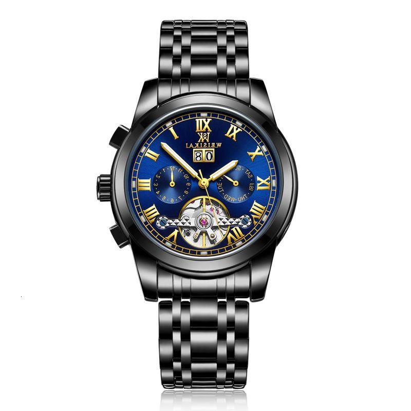 / Wiskey Swiss Watch Weiskai Men's Multi-funzionale Impermeabile Meccanico per uomo WL12
