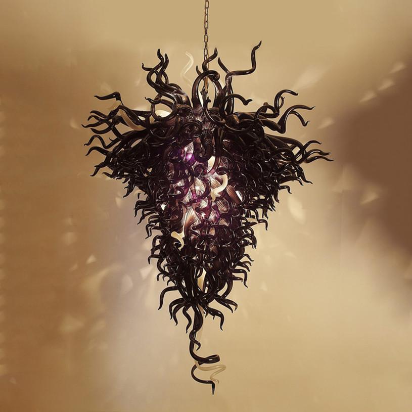 Mode Kristall Kronleuchter Lampe LED Kronleuchter Pendelleuchte europäischen Stil Glasbeleuchtung für Wohnzimmer Restaurant Energieeinsparlampen