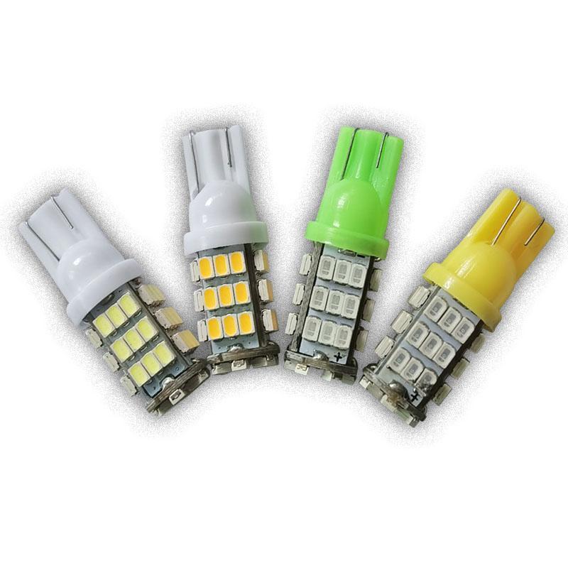 비상 조명 100pcs / lot 자동차 LED T10 42 SMD LED 전구 W5W 194 1206/3020 42smd 42LED 콜드 컬러 사이드 컬러 컬러 사이드