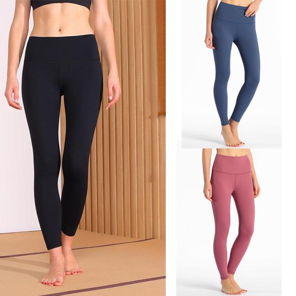 Lu lulu limone lululemon 32 fitness atletico solido yoga pantaloni donne ragazze vita alta vita abiti da donna per ladies sport leggings full leggings signora allenamento