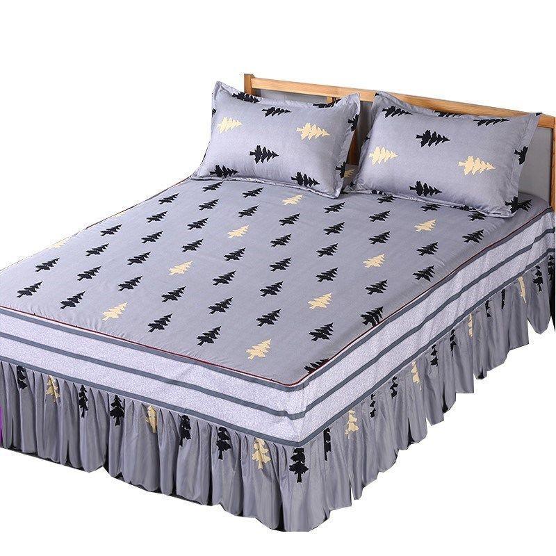 Feuille plate à imprimé floral pour enfants hommes femmes maison adultes adultes double lit double coton plates plates (pas de taie d'oreiller) F0072 210420