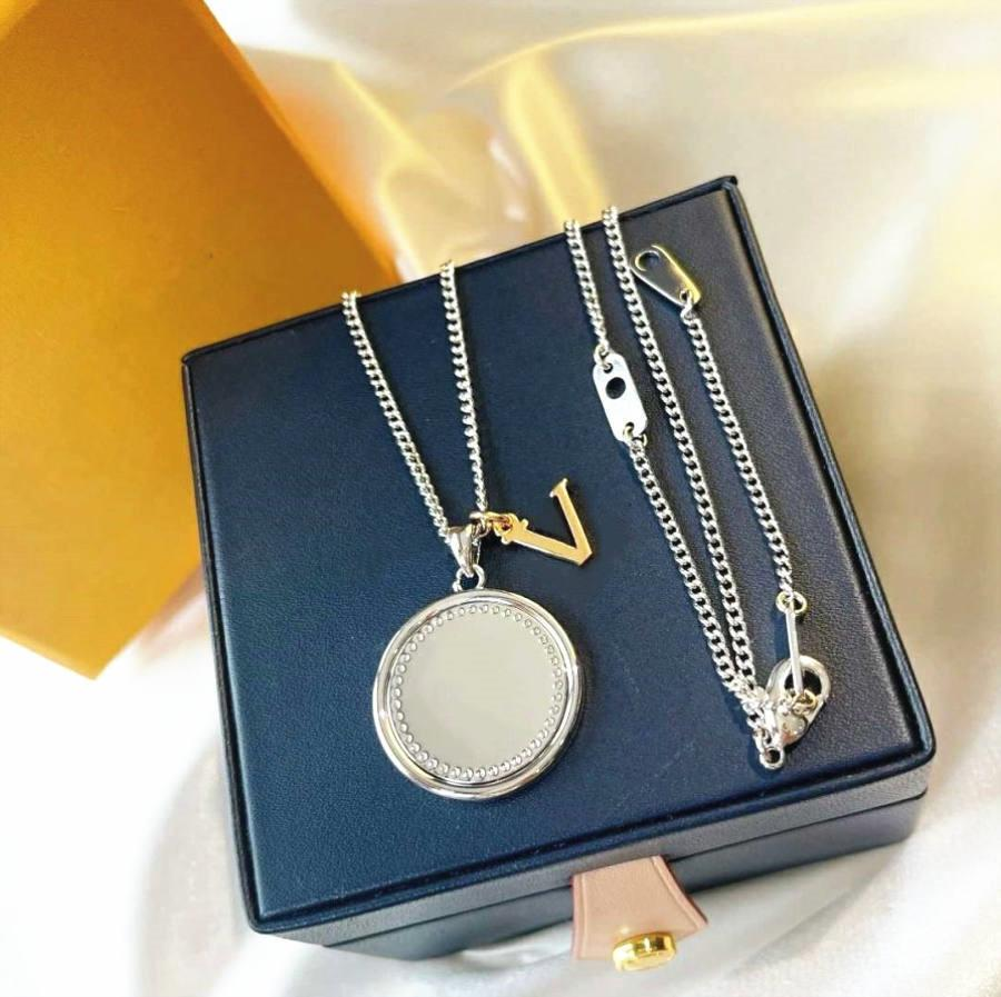 Mode Street Pendentif Colliers Sifflant Collier pour homme Femme Bijoux 8 Boîte de couleurs Besoin d'un coût supplémentaire