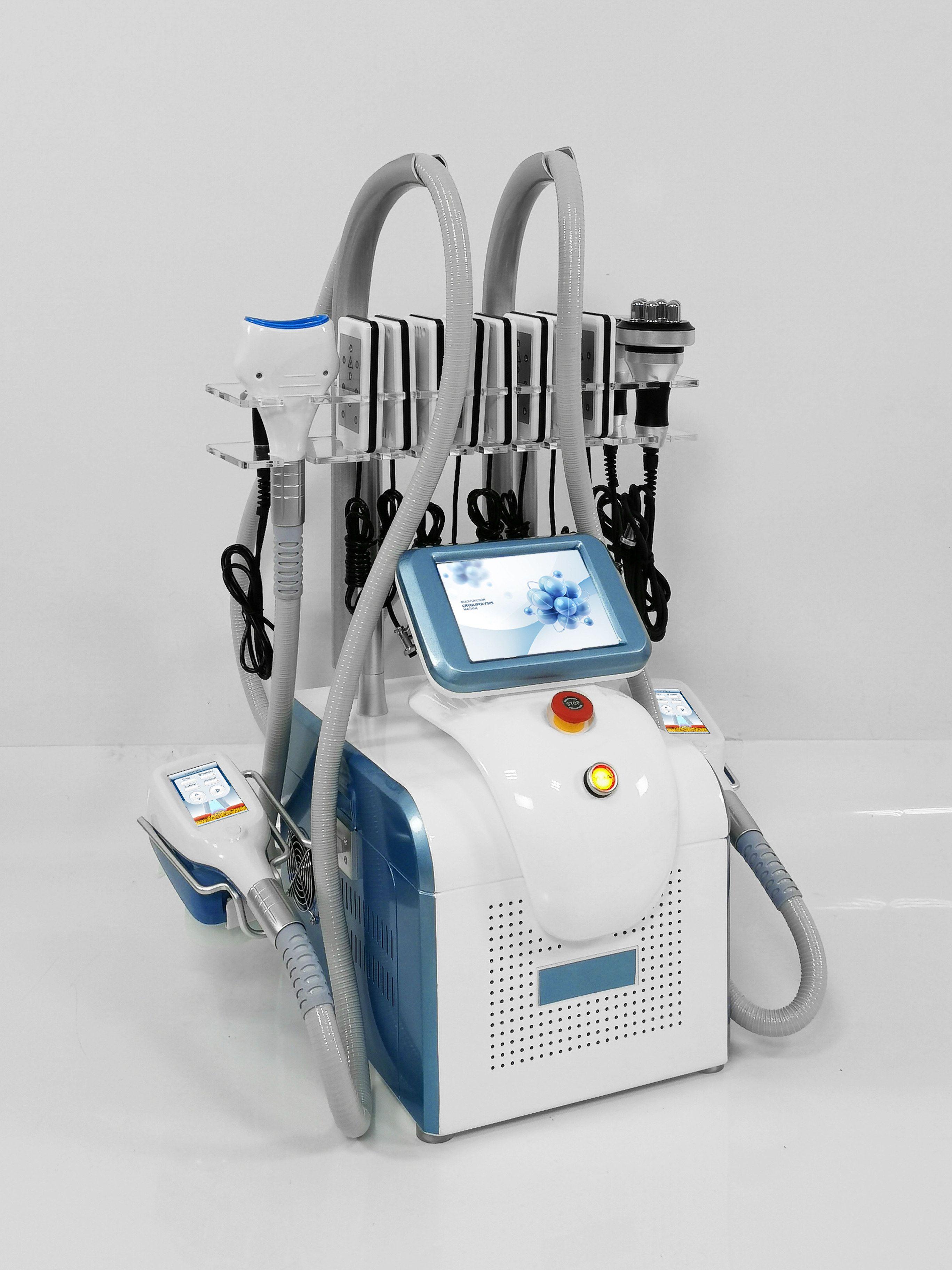 Taşınabilir 360 Derece Kriyo Zayıflama Yağ Donduru Makinesi Kriyoterapi 2 Dondurucu Sculpting Lipo Lazer Vücut Ince Güzellik Ekipmanları