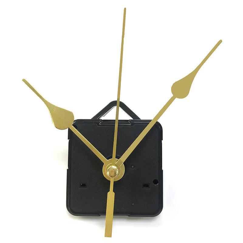 홈 시계 DIY 쿼츠 시계 운동 키트 블랙 시계 액세서리 손으로 스핀들 메커니즘 수리 샤프트 길이 13 최고의 1371 V2