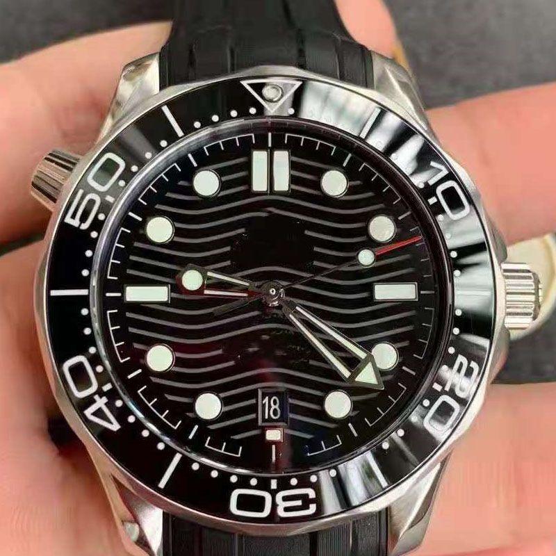 망 세라믹 고무 스트랩 기계식 SS 2813 자동 무브먼트 남자 시계 스포츠 시계 디자이너 럭셔리 손목 시계