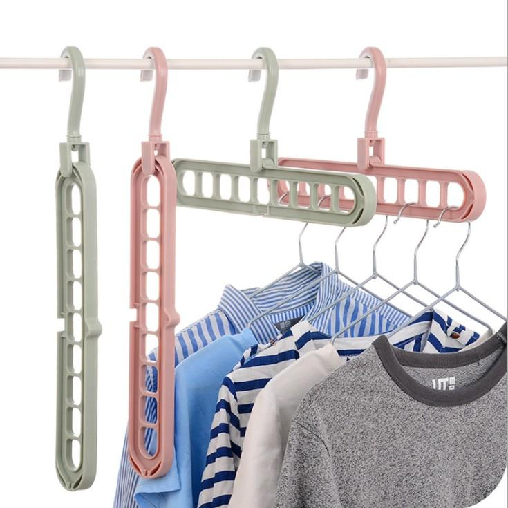 Multi-Port-Trägerbügel Kleidung Racks Multifunktions-Trocknung Kleiderbügel Housekeeping Organization Magic Rack