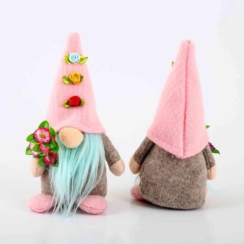 Pasqua Bella Dollne senza motivo di Pasqua coniglio Gnome Regalo Giornata della Mamma Plushed Dwarf Holiday Party Tableop Ornamenti Home Decor G393ZR0