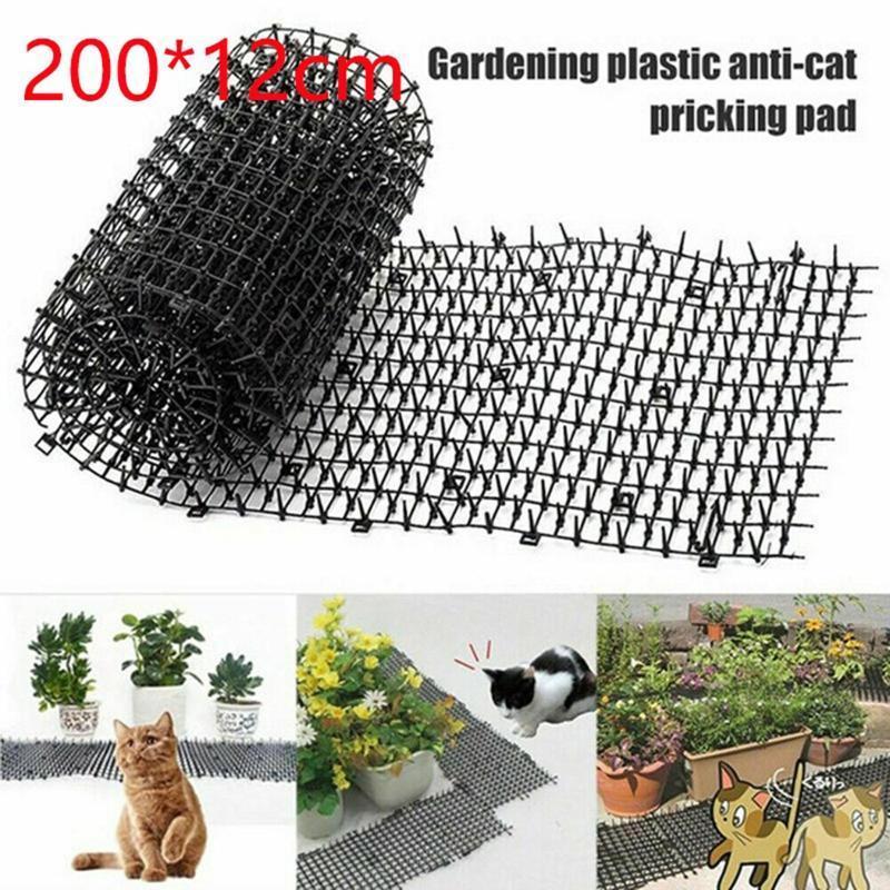 Cat Scat Mat Mat Anti-Cat et Pest Plastic Plastic Bande Network Creusez Stopper Tapis Jardin Tapis Catts Net Net Bins
